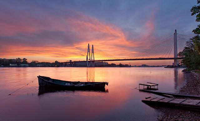 Петербургские зори вантовый мост